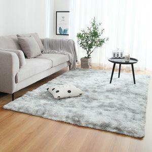 160x230cm Shaggy Teppich Schlafzimmer Rugs Floor Carpet Soft Home Nachbildung Matte