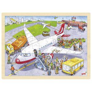 Einlegepuzzle Auf dem Flughafen, per St