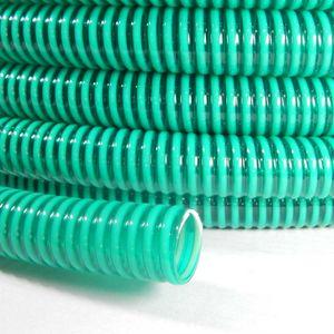 Saugschlauch Spiralschlauch grün (Meterware) 25mm