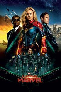 Marvel - Captain Marvel - Epic - Film Poster - Größe 61x91,5 cm