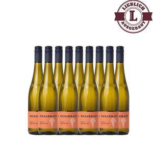 Weißwein Rheinhessen Riesling Auslese Weingut Dackermann 107° lieblich ( 9 x 0,75 l)