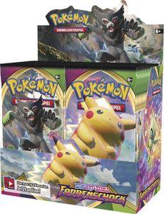Pokemon Sammelkartenspiel: Booster - Schwert & Schild 4: Farbenschock, 36 Booster