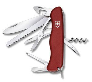 Victorinox Outrider Taschenmesser mit 14 Funktionen in Rot  Mittelrot
