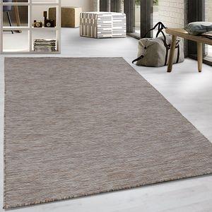 Flachgewebe Teppich Sisal Optik Indoor Outdoor Küche Terrasse Flur Beige, Grösse:160x230 cm