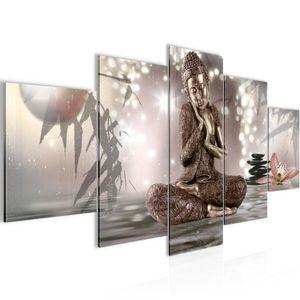 Buddha Feng Shui BILD :150x100 cm − FOTOGRAFIE AUF VLIES LEINWANDBILD XXL DEKORATION WANDBILDER MODERN KUNSTDRUCK MEHRTEILIG 503453a