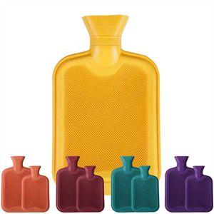 Wärmflasche Heizkissen Wasserkissen 1 Liter, Farbe: Gelb