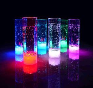 LED Longdrinkglas Longdrinkgläser Geburtstag Party Hochzeit Kunststoffglas LED beleuchtetes Trinkglas Partyglas 400 ml