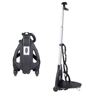 Werkzeug Trolley Sackkarre klappbar Tragkraft bis 45 kg gefalten 32x21x10 cm