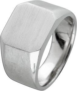 T-Y Siegelring Herren Ring Edelstahl mattiert Toyo Yamamoto gravierbar 18