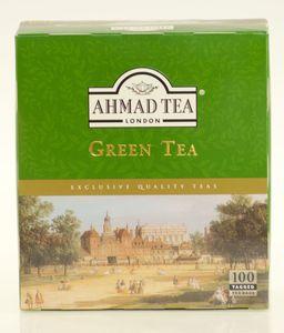 Ahmad Tea- Green Tea 100 St. Grüner-Tee-Beutel á 2 Gramm mit Band