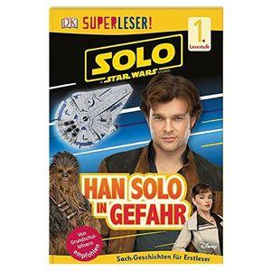 SUPERLESER! Han Solo in Gefahr: 1. Lesestufe Sach-Geschichten für Leseanfänger
