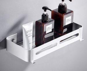 VADOOLL Duschablage Ohne Bohren Duschregal Edelstahl Duschkorb für Badezimmer