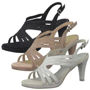 MARCO TOZZI Damen Sandalen High Heels Riemchensandalen 2-28329-26, Größe:40 EU, Farbe:Rosa