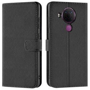 Book Case für Nokia 5.4 Hülle Flip Cover Handy Tasche Schutz Hülle Etui