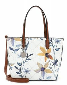 Tamaris Damen Shopper Anastasia Flower 30923