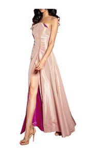 Sibilla Pavenstedt for APART Designer-Abend-Wendekleid, apricot-pink Abendmode Größe: 34