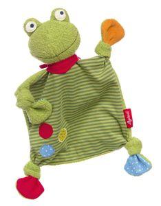 Sigikid Schnuffeltuch Schmusetuch Flecken Frog