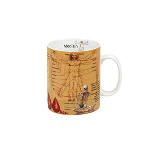 Könitz Porzellan Wissensbecher Medizin Kaffeebecher Tee Tasse