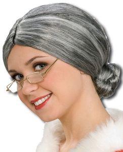 Großmutter Perücke mit Knoten