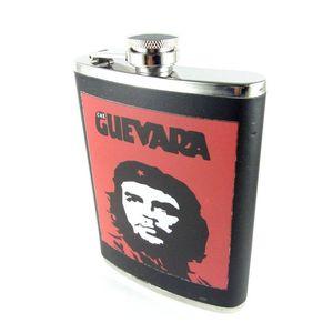 Edelstahl Flachmann 8 oz (240ml) Che Guevara
