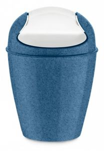 Koziol drehdeckelbehälter DEL XS Organic 2 Liter marineblau
