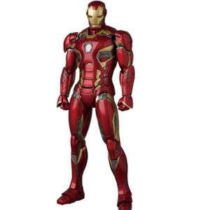 Avengers Iron Man Actionfigur Mk45 Movable Head Hands Collection Modell