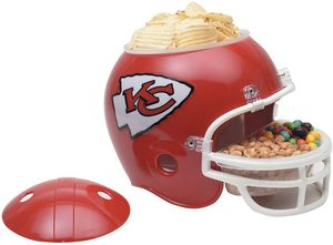 NFL Football Snack Helm der Kansas City Chiefs für jede Footballparty