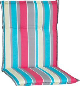beo Niedriglehner bunte Streifen pink, blau