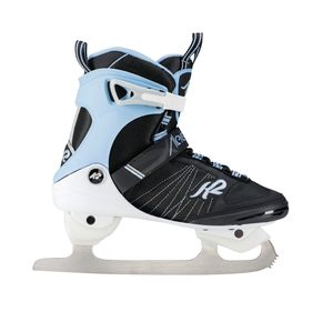 K2 ALEXIS ICE FB Schwarz / Weiß / Hellblau Damen