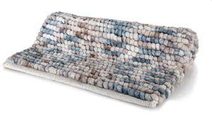 Spirella Badteppich Badematte Duschvorleger Mikrofaser Hochflor   flauschig   rutschhemmend   geeignet für Fußbodenheizung   60x90 cm   Berry
