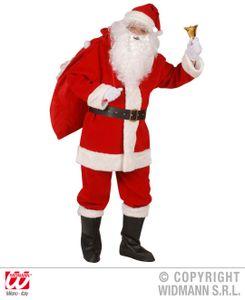 Santa Claus Kostüm in Box Gr. XL - Nikolaus Verkleidung Box Weihnachtsmann