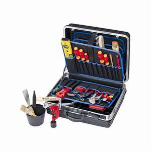 KNIPEX Werkzeugkoffer SANITÄR 002105 HKS Lehrlingskoffer Azubikoffer 22-teilig