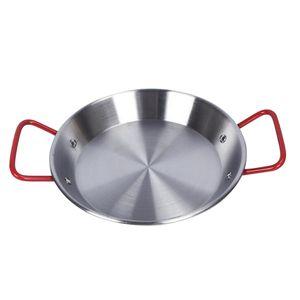 Multifunktions Kochtopf Käseauflauf Meeresfrüchte Fisch Pfanne Bratpfanne 28cm Silber