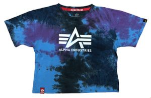 Alpha Industries Damen Big A Batik T-Shirt Wmn galaxy batik M