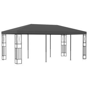 vidaXL Pavillon 3x6 m Anthrazit Stoff