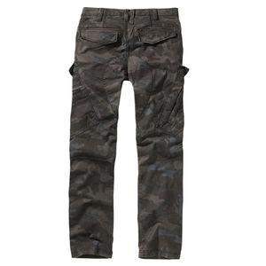 Brandit - Adven Trouser slim fit Men 9470-4 Darkcamo Vintage Cargo Outdoor Biker Größe L