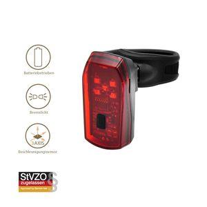 T24 LED Fahrrad Rücklicht Bremslicht Stoplicht mit Sensor, StVZO