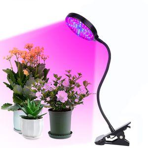 15W LED Pflanzenlampe Pflanzenlicht Full Spectrum Zimmerpflanzen Wachstumslampe Grow Lampe mit Timer