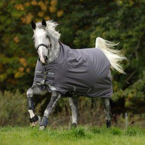 Horseware Amigo Bravo 12 Turnout Lite 0g - Excal/Plum & Silver, Größe:155