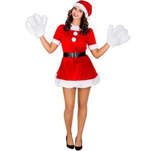 dressforfun Frauenkostüm sexy Weihnachtselfe - S