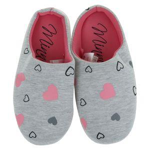 Hausschuhe Damen weiche Schlappen Hausslipper Slipper warm Snoopy Minnie Mouse , Größe TVM Europe:35/38, Farbe TVM Europe:grau