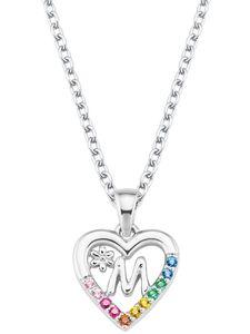 Prinzessin Lillifee 2027886 Silber Kinder-Halskette Herz M