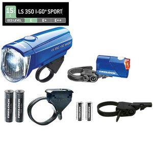 Trelock LED-Batterieleuchten-Set I-go Sport LS 350/710 mit Batterien B