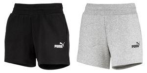 PUMA ESS Sweat s TR Damen Shorts Baumwolle Schwarz, Größe:M