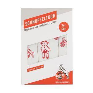 1. FC Köln Schnuffeltuch 3er Set