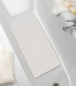 Badewanneneinlage Wanneneinlage Antirutschmatte Mirasol weiß