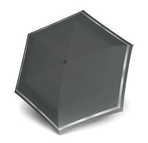 Knirps TS.010 Slim Small Manual Solid Asphalt