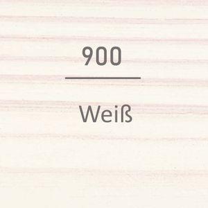 OSMO Holzschutz-Öl Lasurfarbe 900 Weiß 0,75L