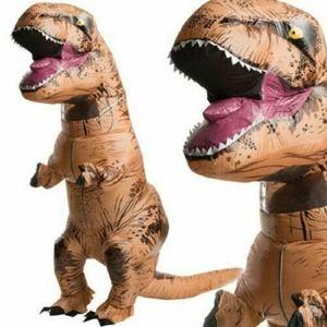 2.2M T-REX Kostüm Karneval Kostüm Dinosaurier Kostüm für Erwachsene Aufblasbar
