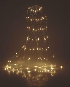 Silver Wire Lights 160 LED - Draht Lichterkette - warmweiß
